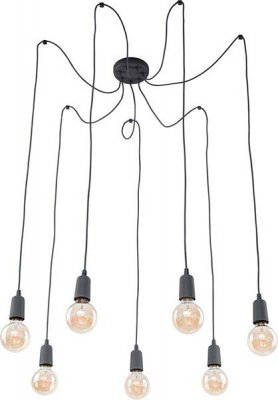 TK Lighting 2686 QUALLE GRAY